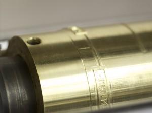 Латунный цилиндр для горячего тиснения