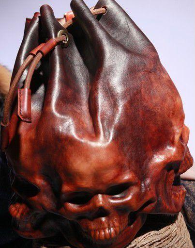 Как сделать рюкзак из кожи
