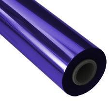Фольга фиолетовая полиграфическая
